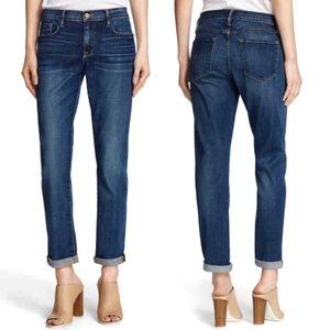 FRAME Le Garcon Skinny Boyfriend Jeans Mentor 27